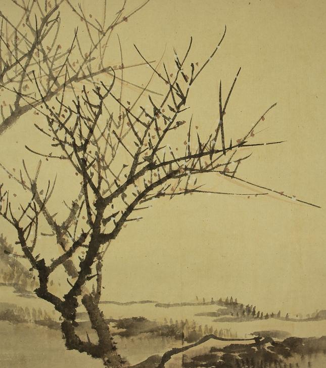 Japanese Scrolls Winter Theme